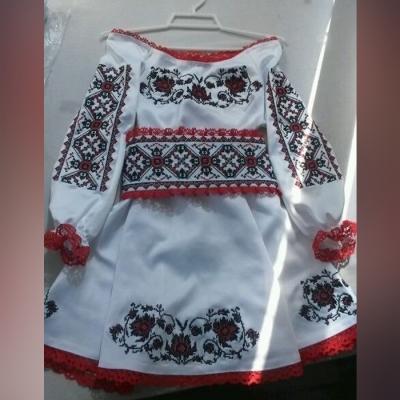 """Платье детское """"Чарівні квіти"""""""