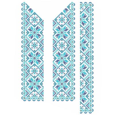 """Сорочка детская """"СД 022"""" синяя"""