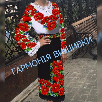 "Костюм женский ""Буковинська писанка"" с поясом"