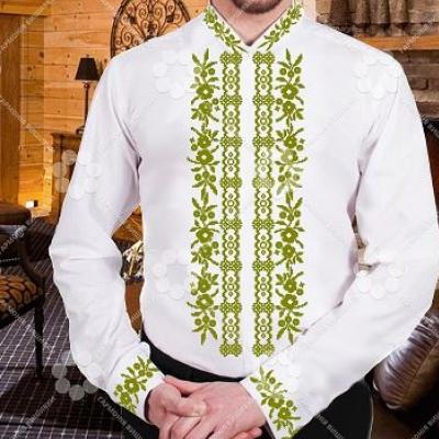 "Сорочка мужская ""СЖ 200,2 оливкова"""
