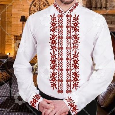 """Сорочка мужская """"СЖ 200,2 червона"""""""